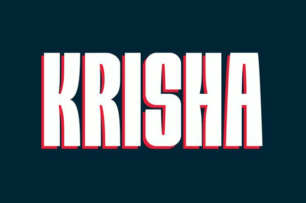 Krisha Free font