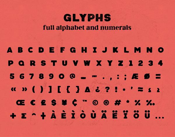 Neretto Sans Free font letters