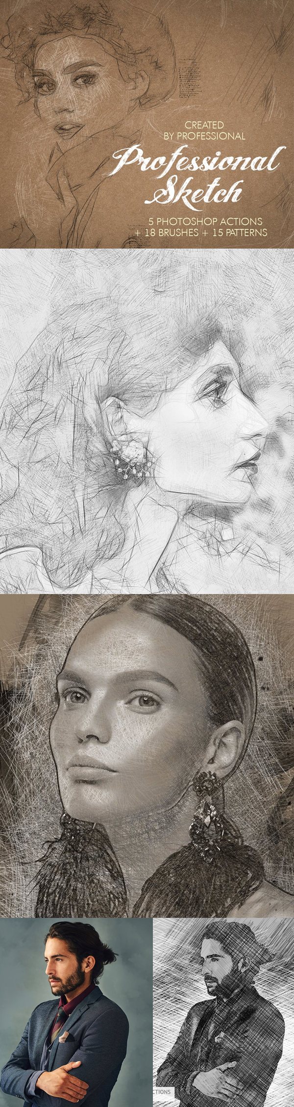 Professional Sketch Photoshop Action