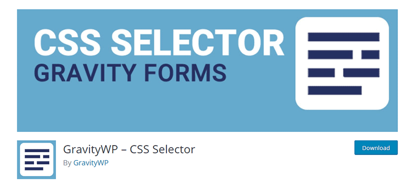 GravityWP – CSS Selector