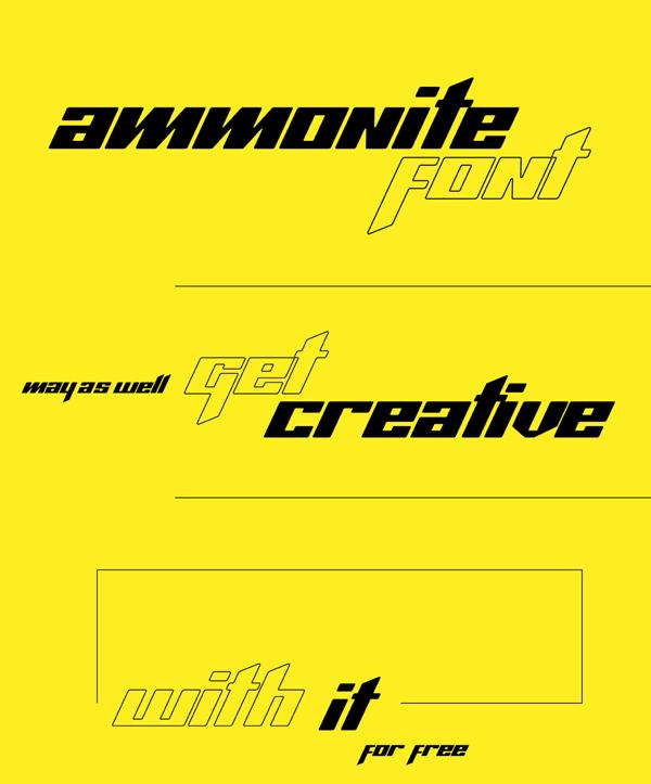 Ammonite Free Font