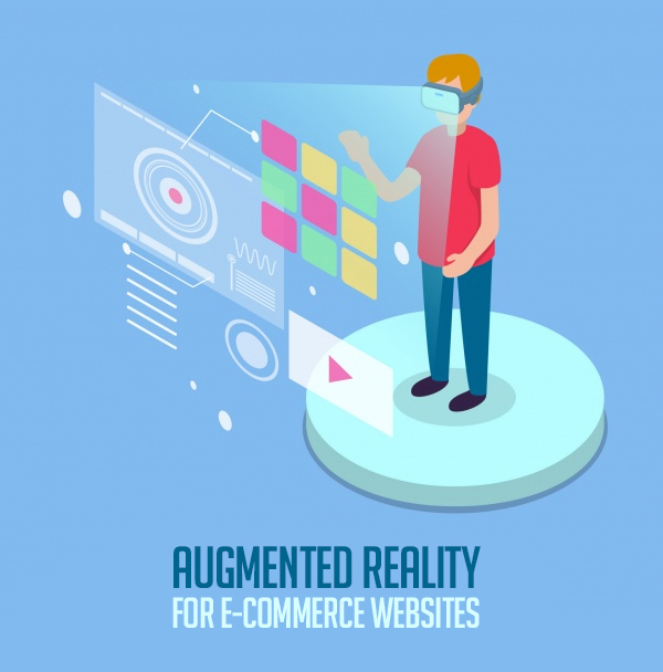 Augmented reality for e-commerce websites
