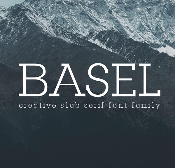 Basel Slab Serif Free Font
