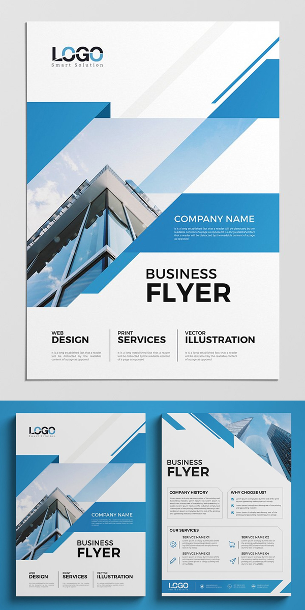 Clean Business Flyer