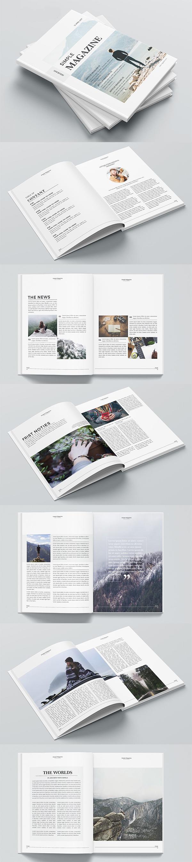 Simple Magazine Brochure