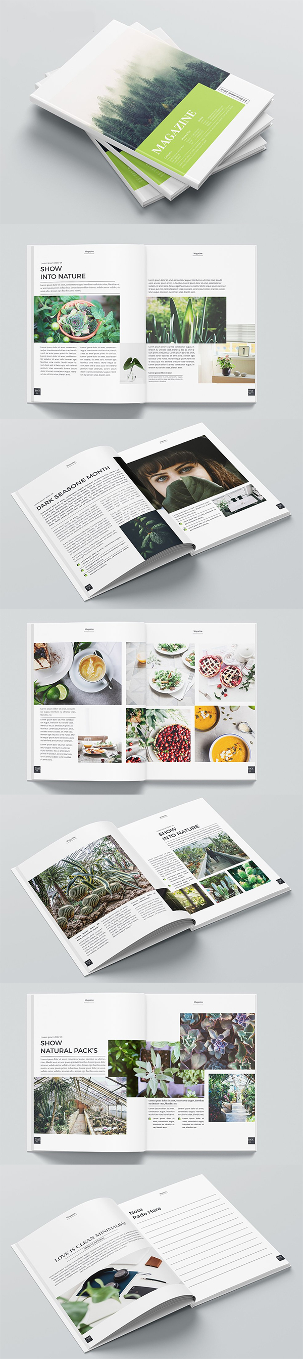 Botanic Natural Magazine