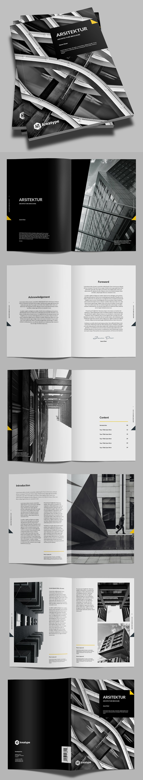 Kreatype Multipurpose Brochure
