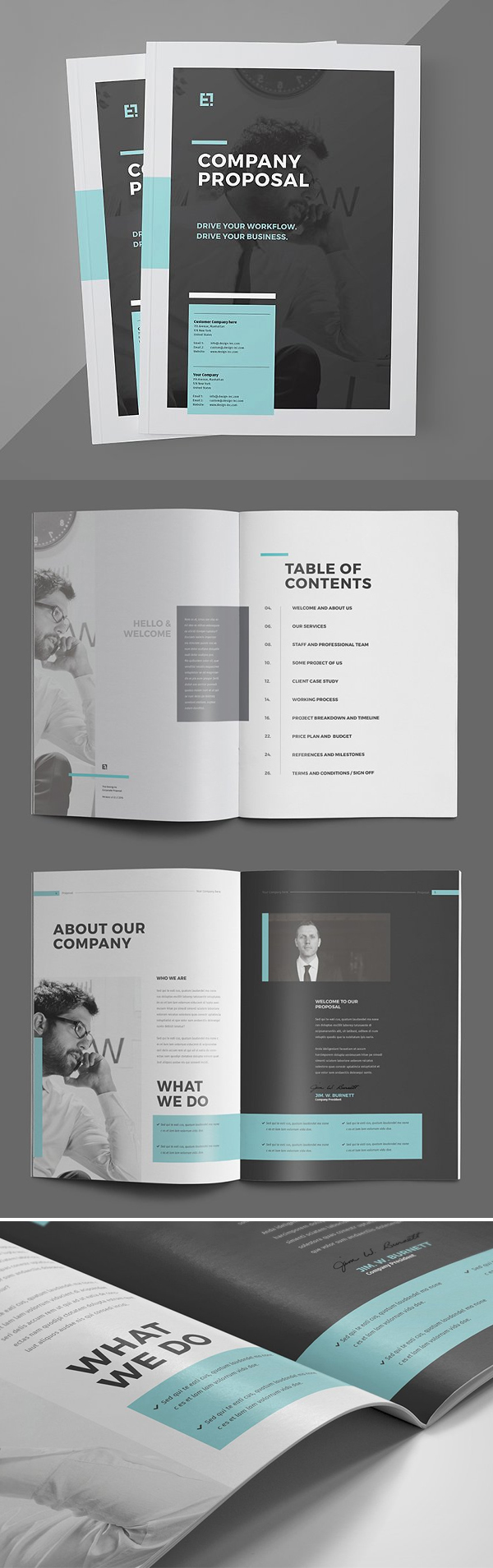 Elegant Proposal Brochure