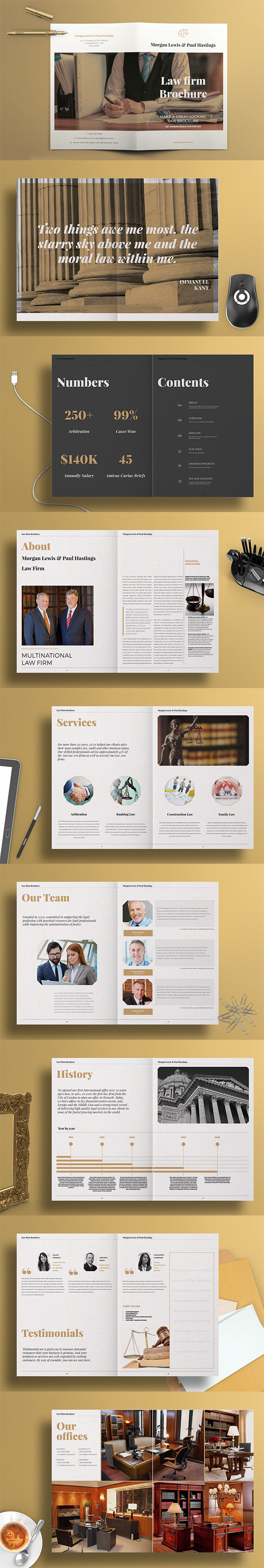 Law Firm Brochure