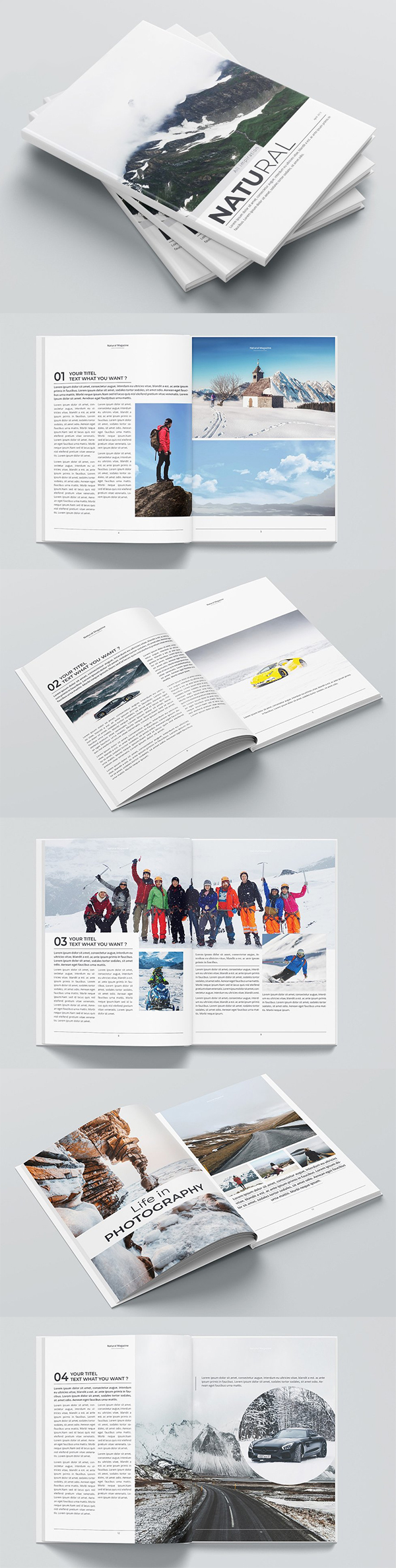 The Magazine Brochure Design