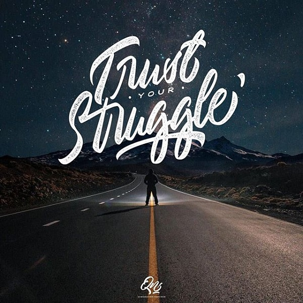 45 Remarkable Lettering and Typography Designs for Inspiration - 42