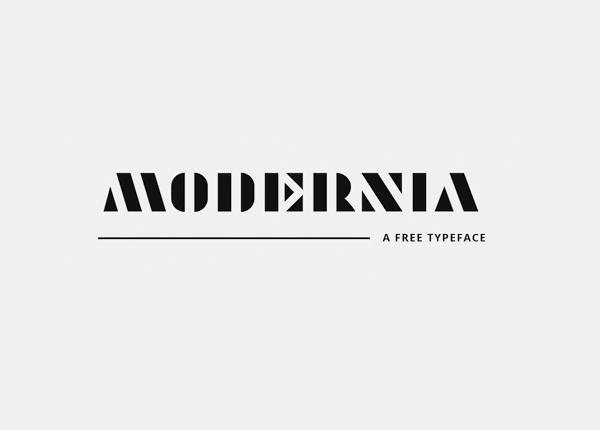 Modernia Free Font