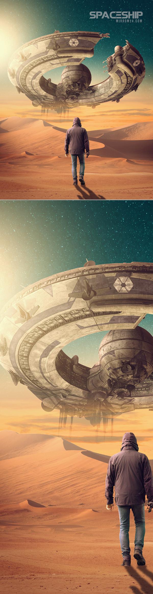 Create a Sci-Fi Fantasy Photo Manipulation in Adobe Photoshop