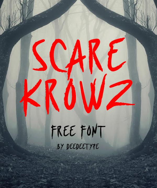 Scarekrowz Free Font