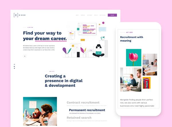Web Design: 50 Inspiring Website Designs with Amazing UIUX - 31
