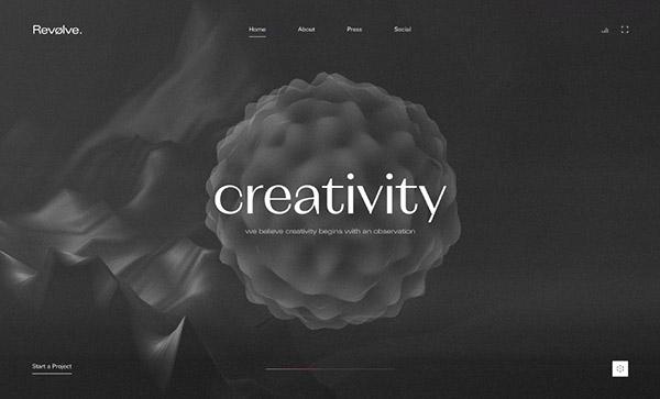 Web Design: 50 Inspiring Website Designs with Amazing UIUX - 4
