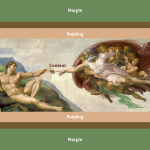 Margin & padding: the creation of negative space