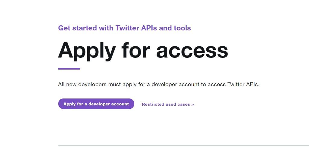 create a twitter bot