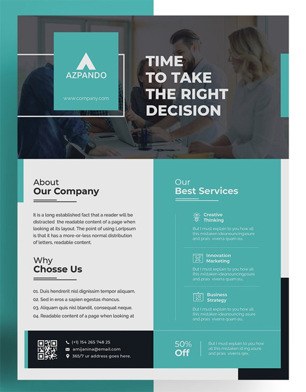 Corporate Company Flyer