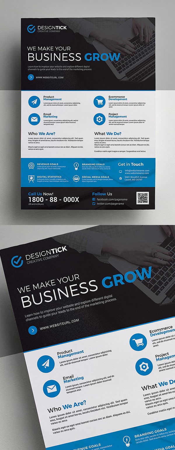 Creative & Corporate Flyer Template