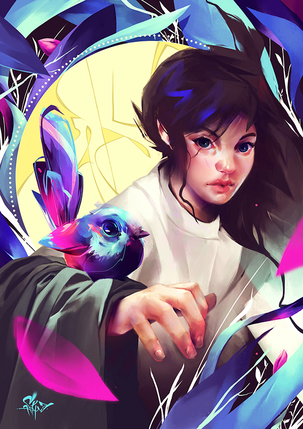 Digital Illustrations by Guilherme Asthma - 3