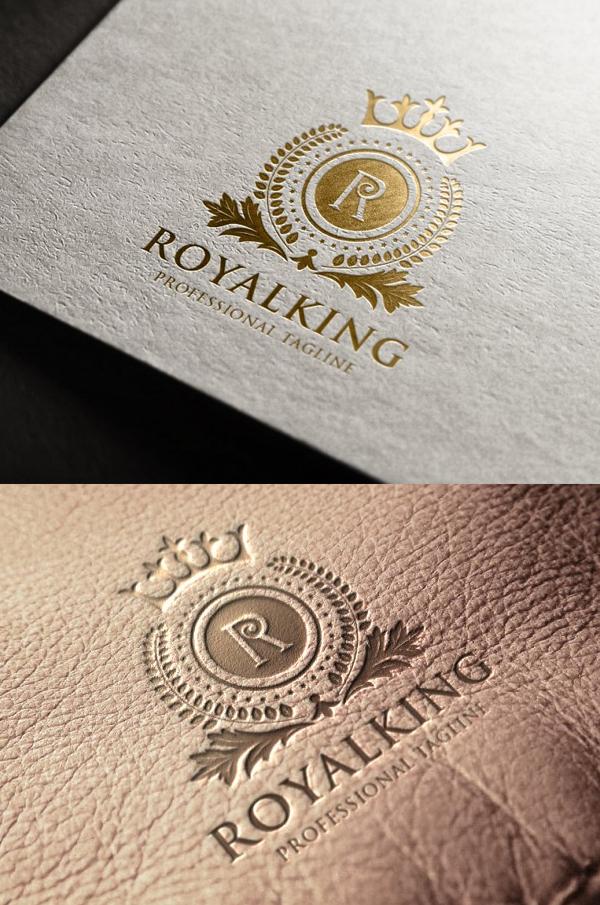 Royal King Letter R Logo - 1