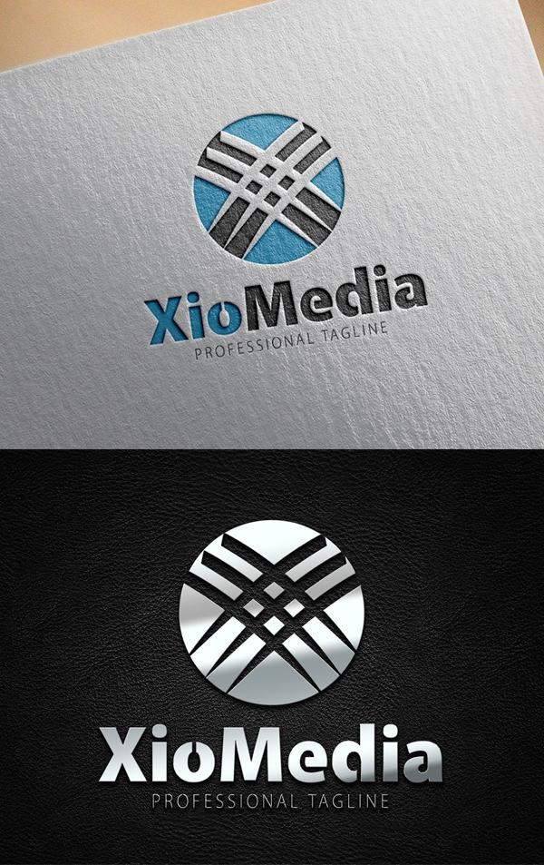 XioMedia Logo - 24