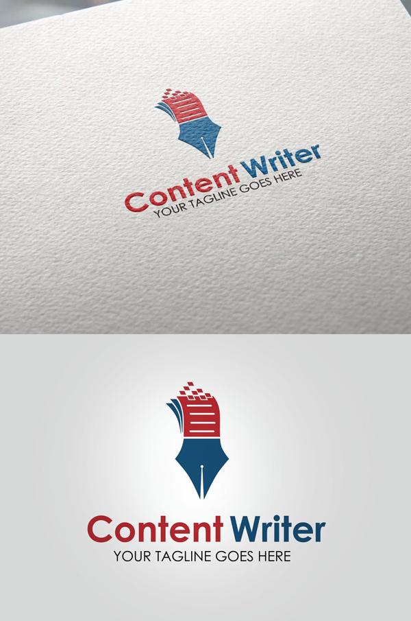 Content Writer Logo - 5