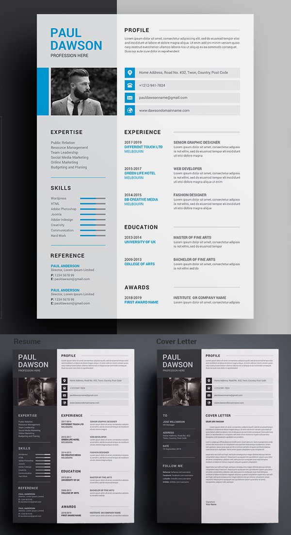 Impressive Resume CV