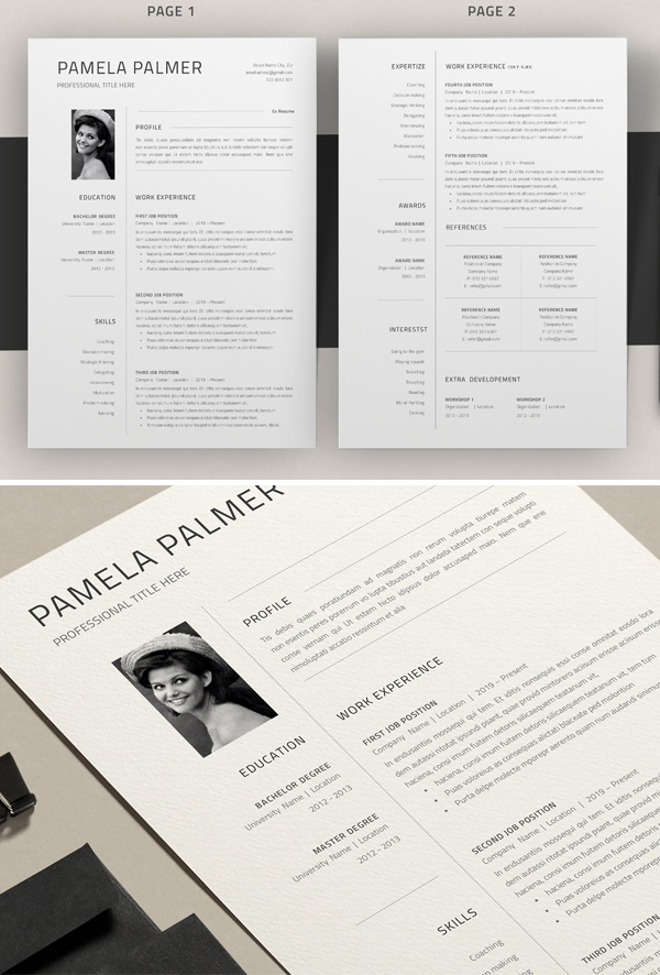 Resume Template Google Docs / Word
