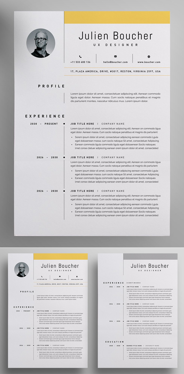 Moder Resume Design