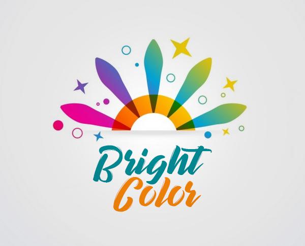 Bright Color Logo