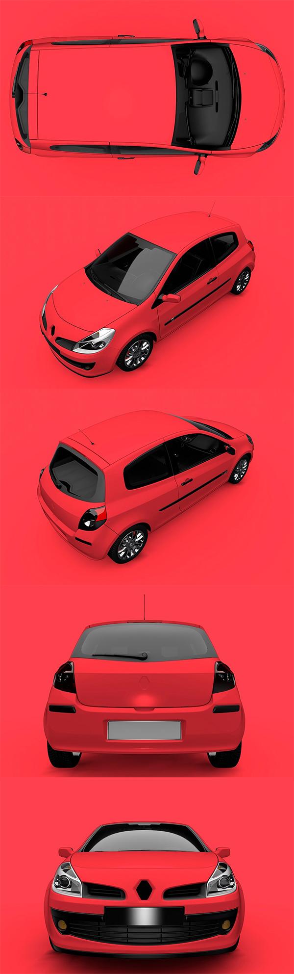 Car Mock-Up Branding