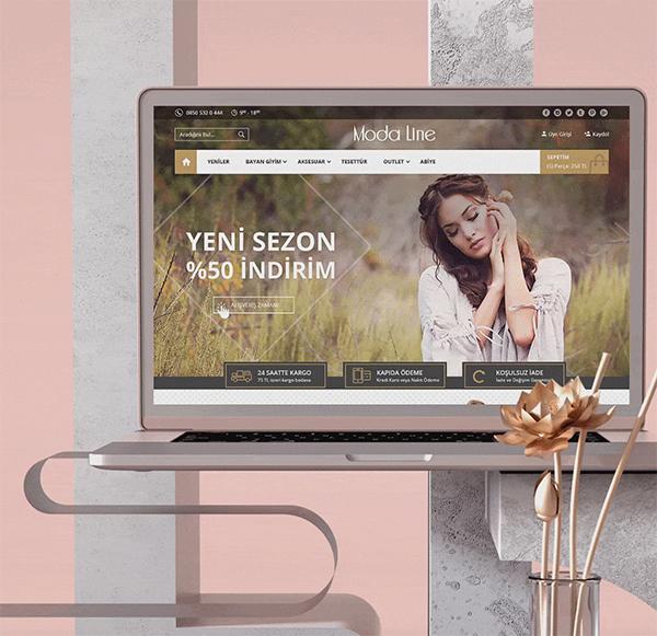 Free Fashion E-Commerce Template
