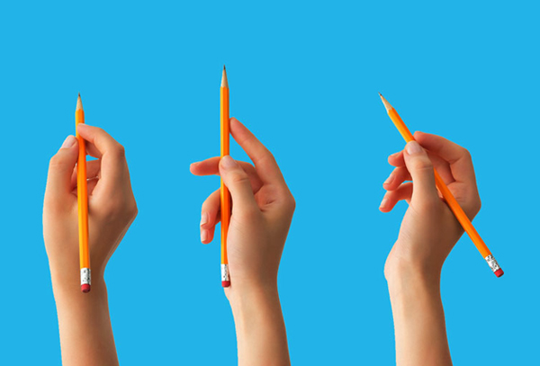 How to Hold and Control Your Pencil