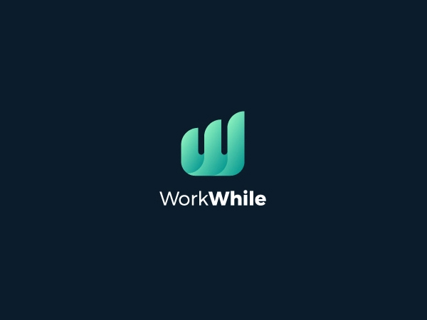 W Mark Logo Design
