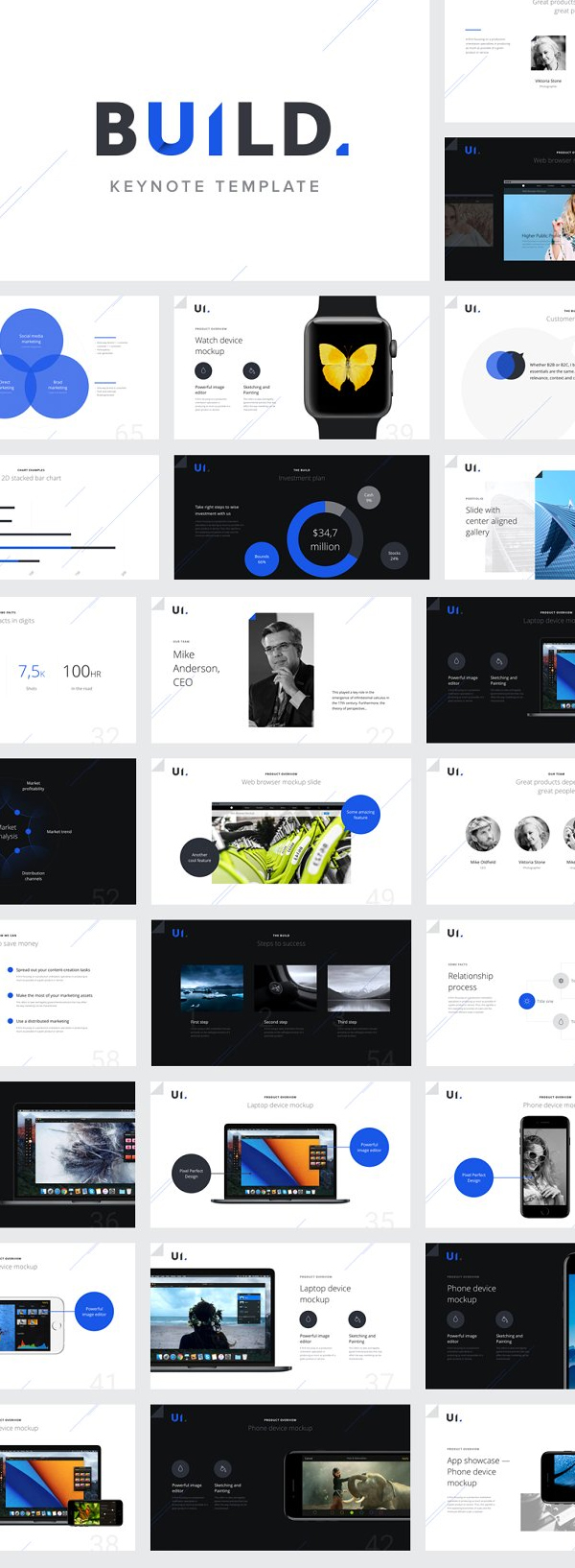 Impressive and Memorable Keynote Presentation Template