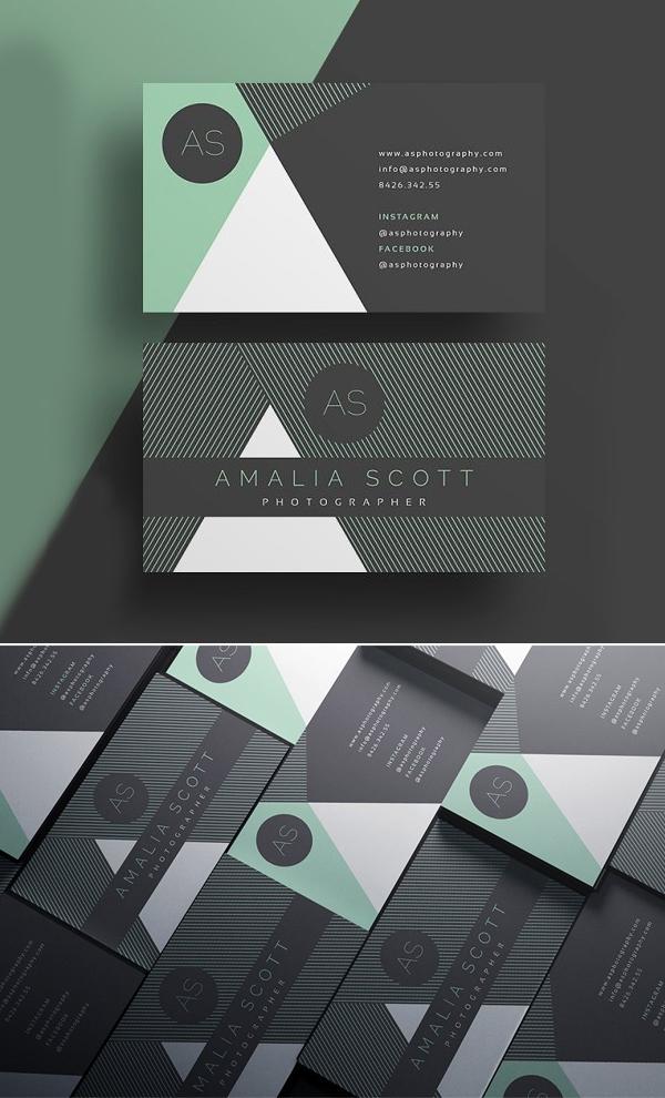 Stylish - Business Card Template