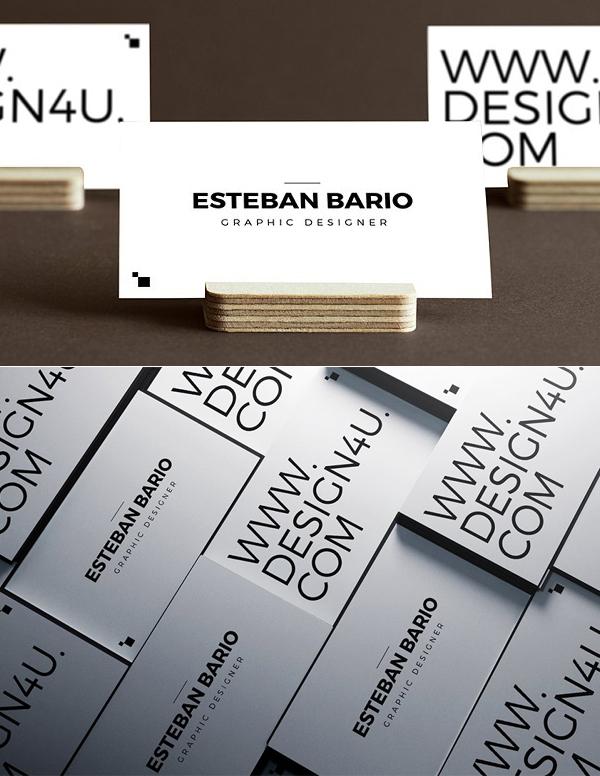 Simple Website Business Card Template