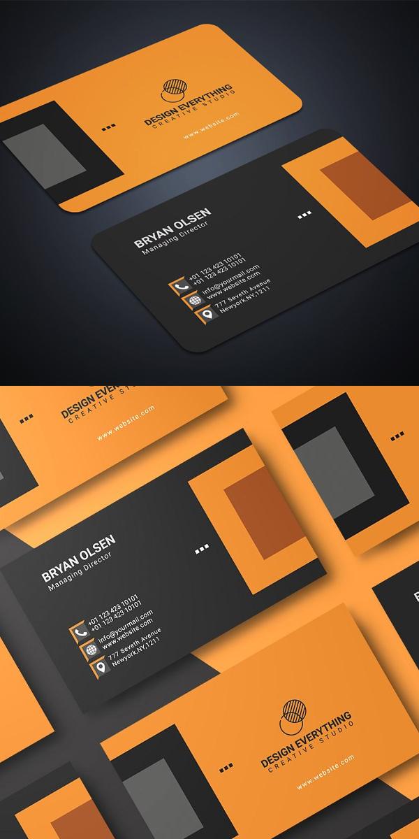 Multipurpose Business Card Template