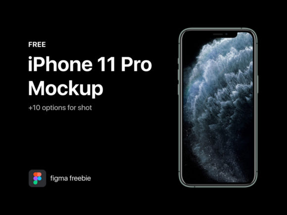 iPhone 11 mockup for Figma