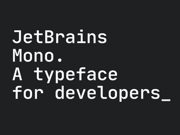 JetBrains Mono: Free typeface for developers