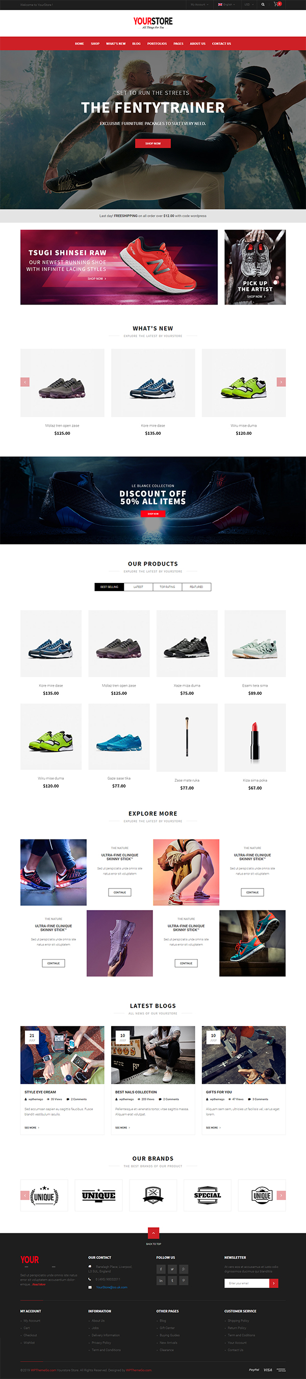 YourStore - WooCommerce Theme