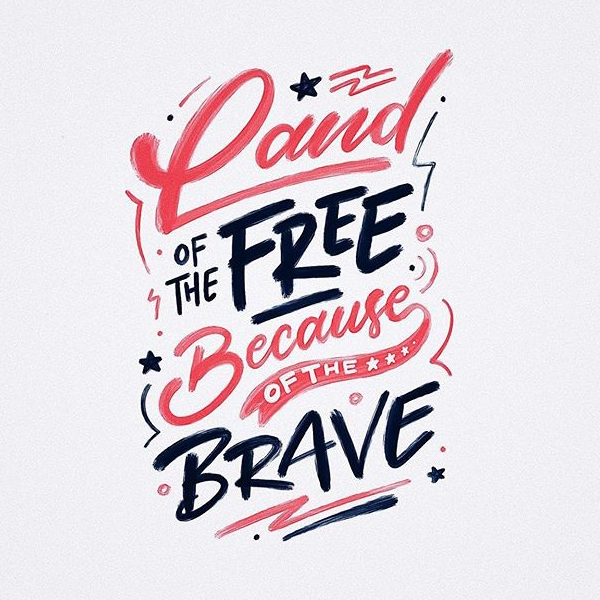 Remarkable Lettering and Typography Designs for Inspiration - 23