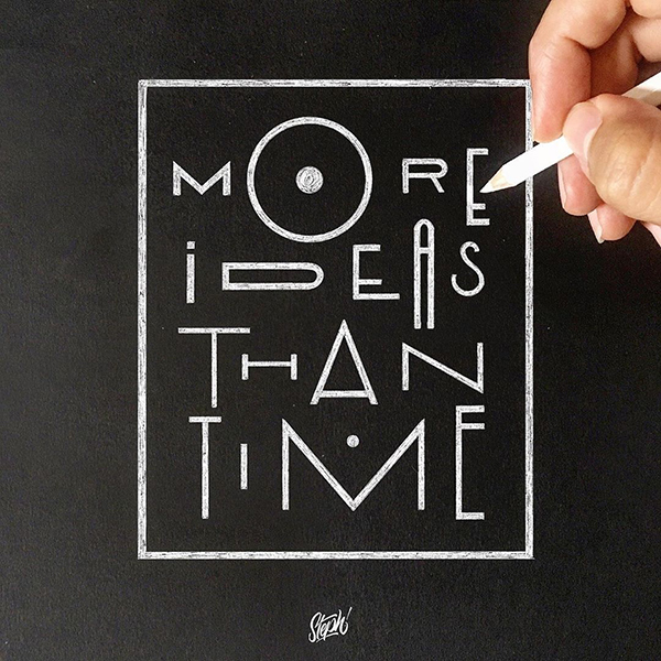 Remarkable Lettering and Typography Designs for Inspiration - 31