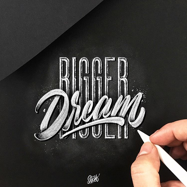 Remarkable Lettering and Typography Designs for Inspiration - 35