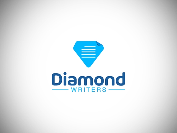 DiamondWriters Logo Design
