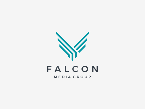 Falcon Logo for Falcon Media Group