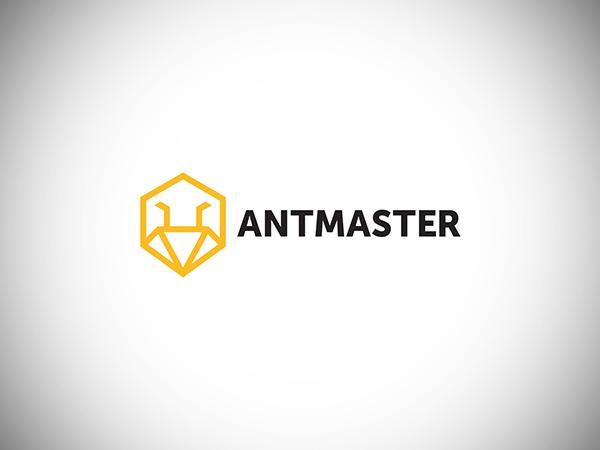 Antmaster Logo Design