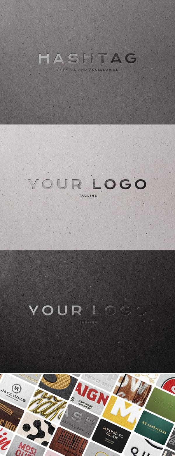 500+ Best Logo Mockups Templates